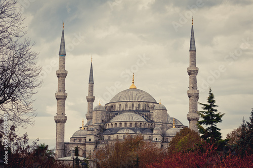 Photo  Mosque in Istanbul, Turkey