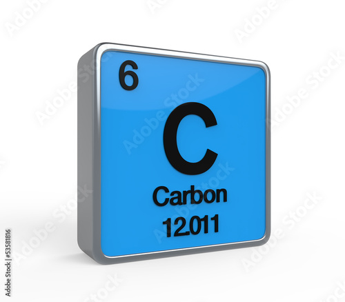 Carbon Element Periodic Table Buy This Stock Illustration And