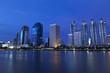 Panorama of Bangkok city downtown at night, Bangkok,Thailand