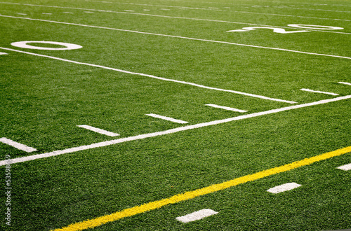 Garden Poster Culture high school football field
