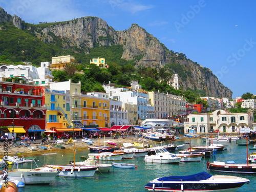 Valokuvatapetti Ile de Capri, Italie, Europe