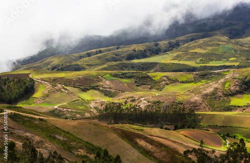 Aluminium Prints Landscapes Hills in Bolivia