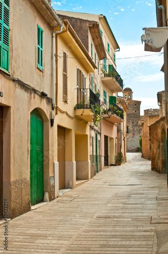 Photo Mediterranean street