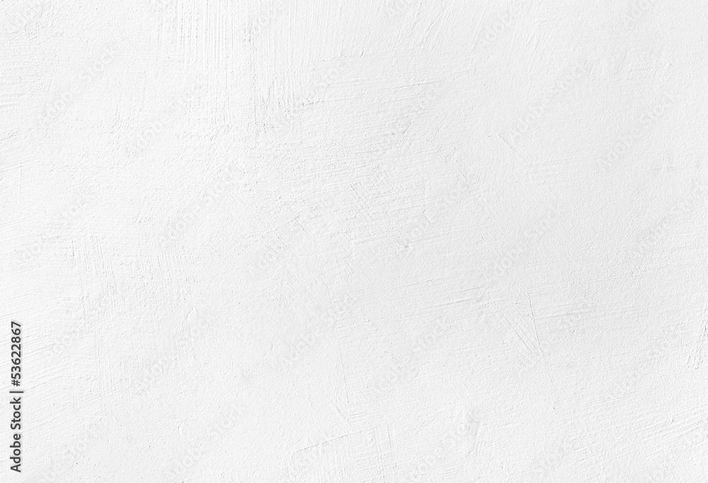 Fototapeta White plaster texture background