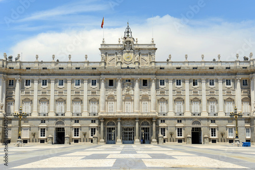 Royal Palace of Madrid, residence of Spanish Royal Family Poster
