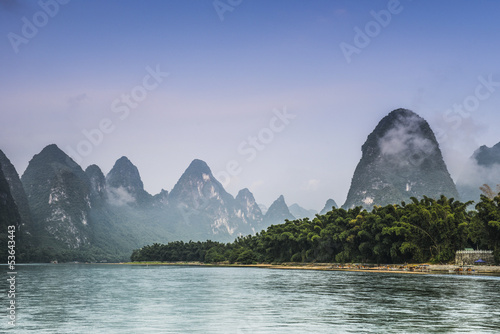 Fotobehang Guilin nature landscape