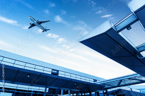 Canvas Prints Airport Airport Terminal