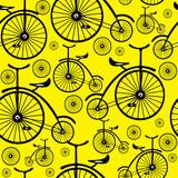rower retro wzór bez szwu - 53654827