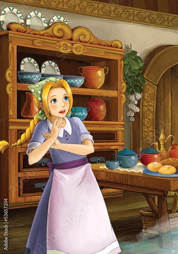 Foto-Lamellen (Lamellen ohne Schiene) - The princesses - Cinderella castles (von honeyflavour)