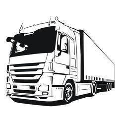 Fototapetacieżarówka