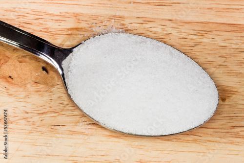 Fotografia, Obraz  tablespoon of salt