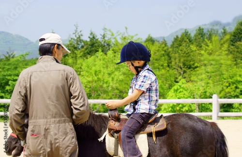 Foto 乗馬体験 An Experience Riding A Horse