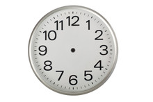Clock Face Without The Hands I...
