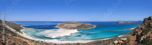 The Balos beach, Granvoussa, Crete - 53679827