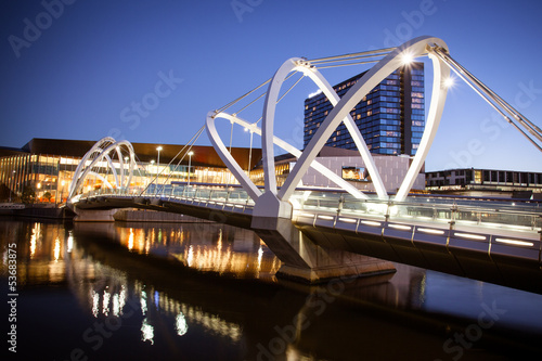 Seafarers Bridge in Melbourne