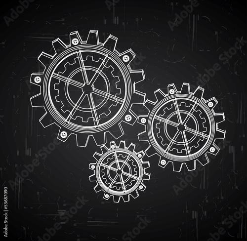 Photo  gears design