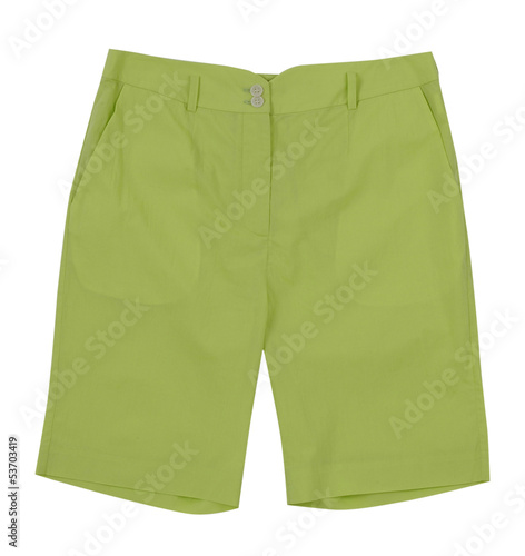 Fotografía  green shorts