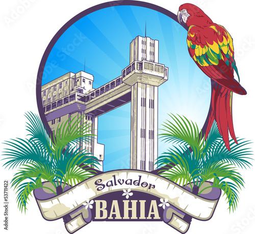 Fotografie, Obraz  Elevador de Salvador