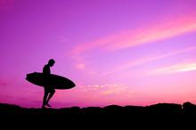 Purple Sky Surfer