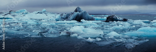 Canvas Prints Glaciers Jokulsarlon lake