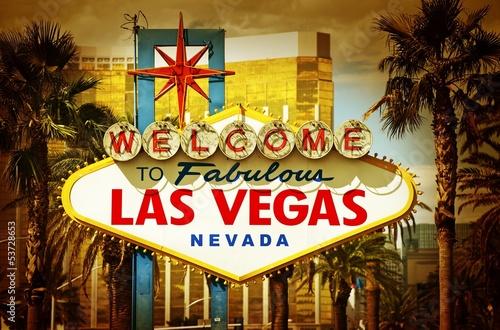 Leinwand Poster  Las Vegas