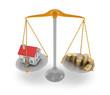 House price. 3D concept