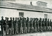 Black Soldiers In Union Army (...