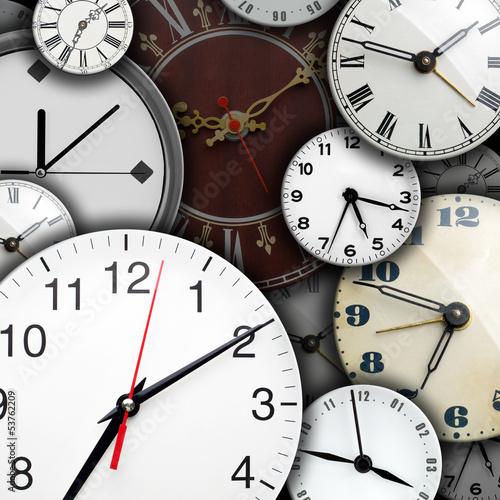 Fotografía  Clock faces