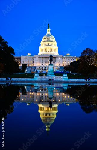 Stampa su Tela  Washington DC Capitol , USA