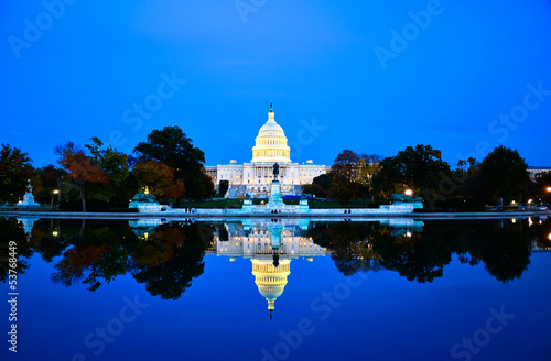 Fotografia  Washington DC Capitol , USA