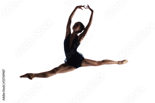 Αφίσα  Female ballet dancer