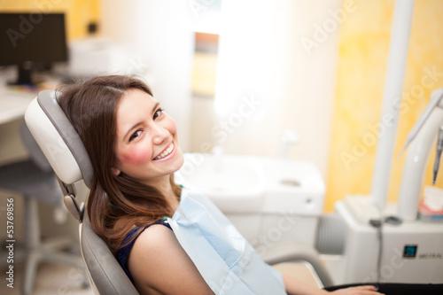 Valokuva  Woman at the dentistry