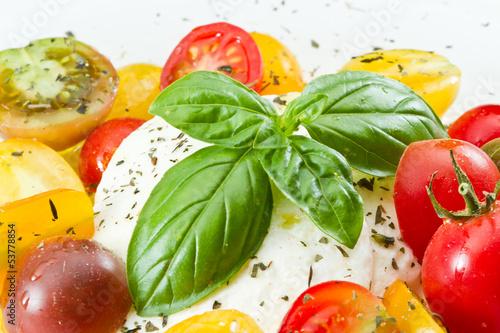 In de dag Verse groenten Fresh Capresse Salad