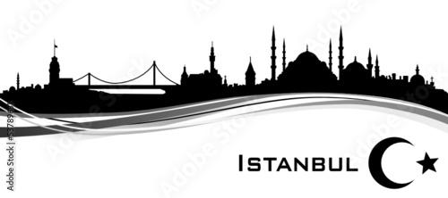 Fotografia Skyline Istanbul