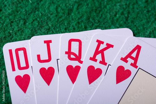 Foto  Gambling concept