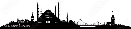 Fototapeta premium Skyline Istanbul