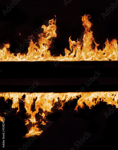 Foto op Plexiglas Vlam Fire flames