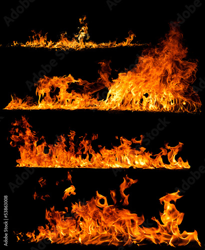 Canvas Prints Fire / Flame high resolution fire collection