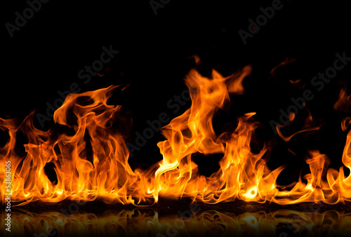 Photo Stands Fire / Flame fire flames