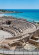 Roman amphitheater in Tarragona , Spain