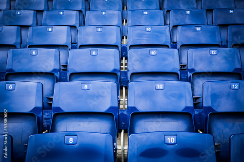 Poster de jardin Stade de football Stadium seats