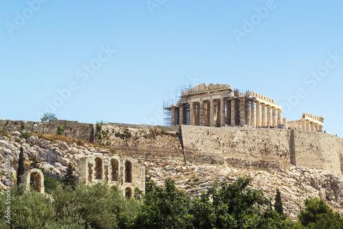Printed kitchen splashbacks Athens Acropolis of Athens