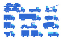 Types Of Trucks.