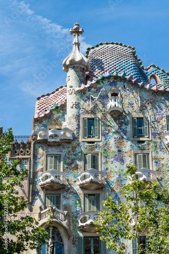 Photo  Casa Batllo facade