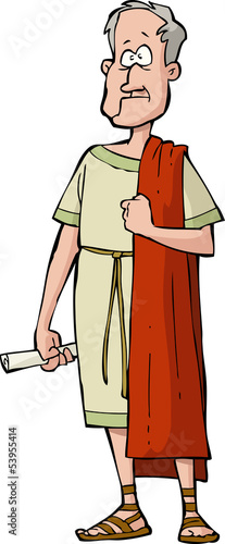 Fotografia Roman senator