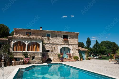 Photo  villa avec piscine