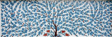 Tree Of Mosaic Tiles.