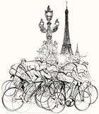 Paryż - kolarze w zawodach - 53975098