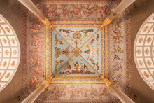 Ceiling Of Laos Victory Gate (...