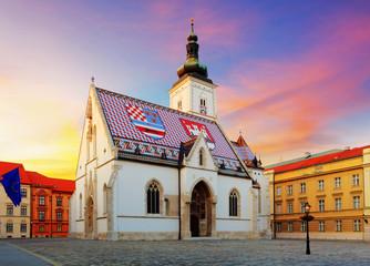 Zagrebačka crkva - Sveti Marko